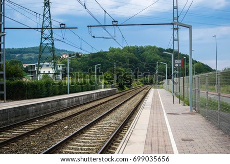 Train Station, Basque Country #699035656