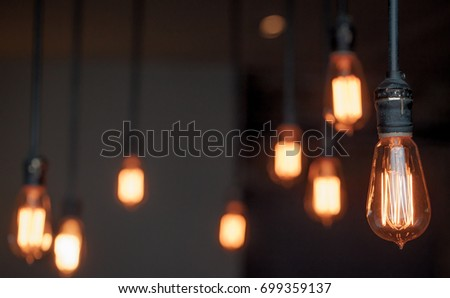 Lighting decor macro #699359137