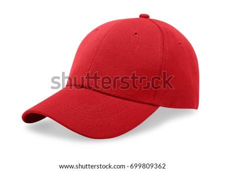 Baseball cap isolated on white background. Royalty-Free Stock Photo #699809362