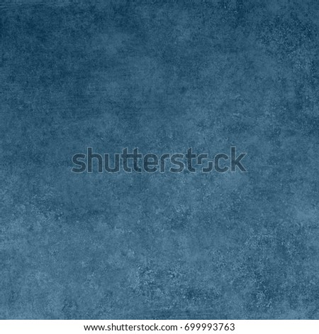 Blue designed grunge texture. Vintage background with space for text or image #699993763