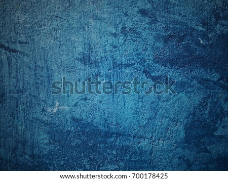 Blue color concrete background wallpaper