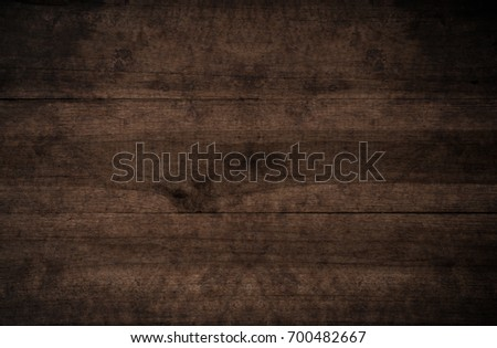 Old grunge dark textured wooden background,The surface of the old brown wood texture #700482667