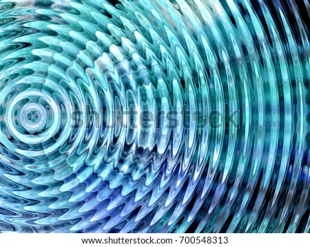 Resonate ,spread, vibration or ripple abstract  #700548313