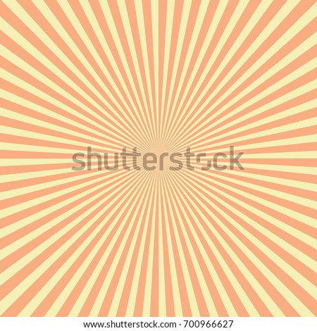 Background design, yellow and orange beams