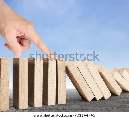 stop a dominoes continuous toppled #701144746
