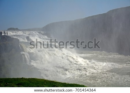 Golden Falls, Gullfoss, Iceland #701454364