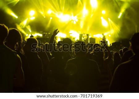 Concert visitors, Festival visitors #701719369