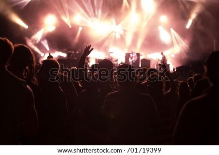 Concert visitors, Festival visitors #701719399