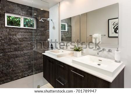Modern Bathroom Design Custom Build