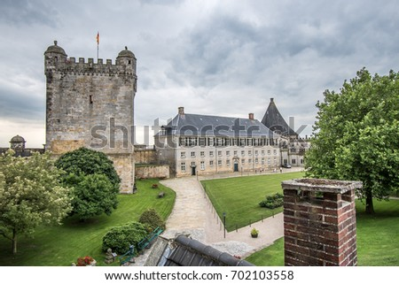 The historic castle of Bad Bentheim in Germany #702103558
