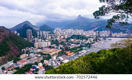 Rio City in Brazil #702572446