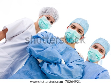 medical team after the surgery #70264921