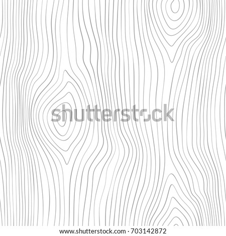 Seamless wooden pattern. Wood grain texture. Dense lines. Abstract background. Vector illustration Royalty-Free Stock Photo #703142872