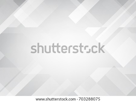 Abstract grey and white tech geometric corporate design background eps 10.Vector illustration