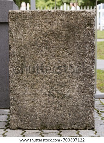 headstone unmarked #703307122