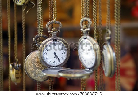 old silver pocket watch #703836715