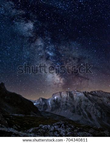 Milky way from Zirmsee #704340811