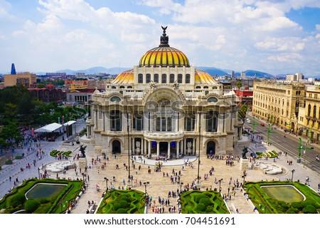 Mexico City Skyline #704451691