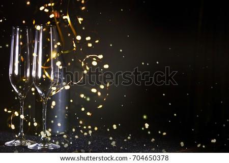 New Years Eve celebration background #704650378