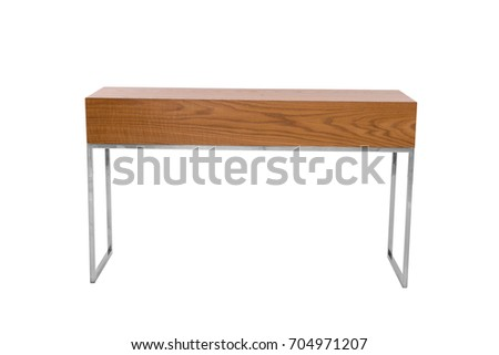 living room furniture stand isolated on white background #704971207
