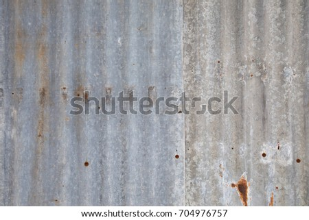 Old metal sheet wall background #704976757