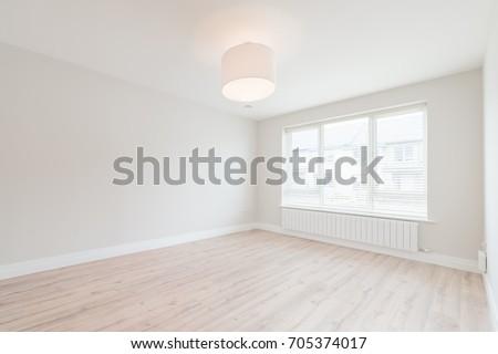 Empty small bedroom #705374017