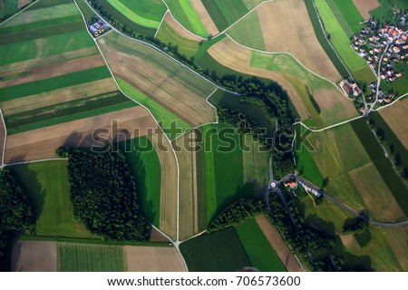 Aerial view Royalty-Free Stock Photo #706573600