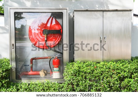 Fire extinguisher system. #706885132