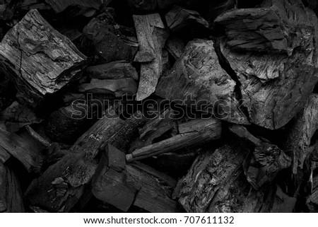 Black charcoal texture background.selective focus #707611132