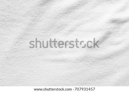 Close-up white towel texture  for background. #707931457