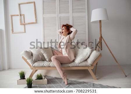 morning girl #708229531