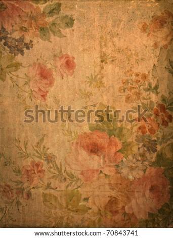 Romantic vintage rose background #70843741