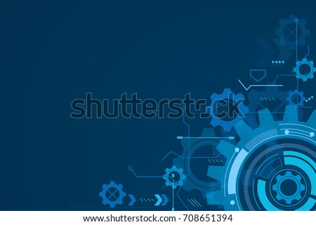digital technology and engineering, digital telecoms concept, Hi-tech,futuristic technology background, vector illustration. Royalty-Free Stock Photo #708651394