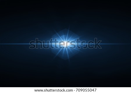 3d rendering. Digit lens flare with bright light isolated with black background. Used for texture and material  #709055047