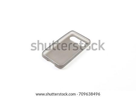 Phone case isolated on white background #709638496