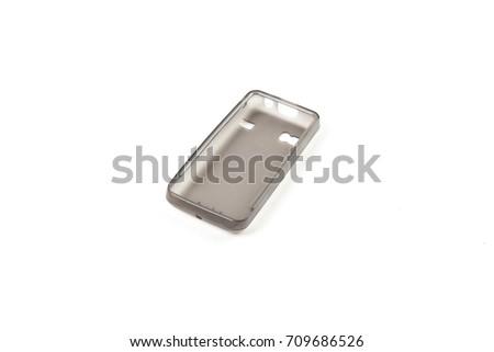 Phone case isolated on white background  #709686526