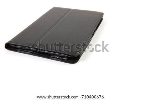 Tablet case isolated on white background #710400676