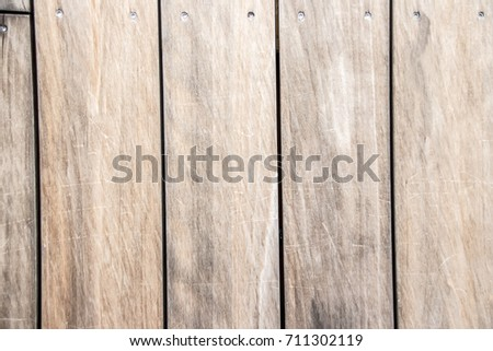 Background of large beige texured wooden boards #711302119
