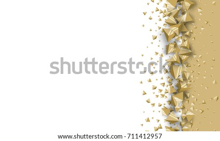 3-d crystals decoration for covers, banners, flyers and posters, invitation cards. Brochure, invitation card templates. Elements of decoration for backgrounds. 3d design elements.  #711412957