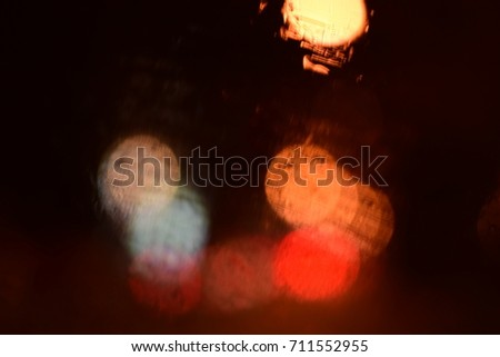 Blur and Bokeh in the City Background #711552955