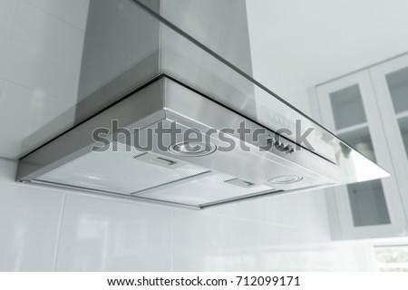 hood in kitchen #712099171