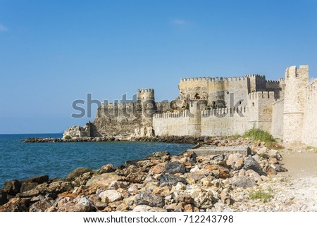 Mamure Castle view in Anamur Town #712243798