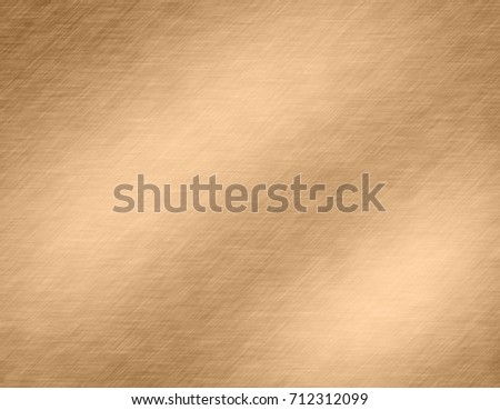 Abstract Gold metal brushed background or texture #712312099