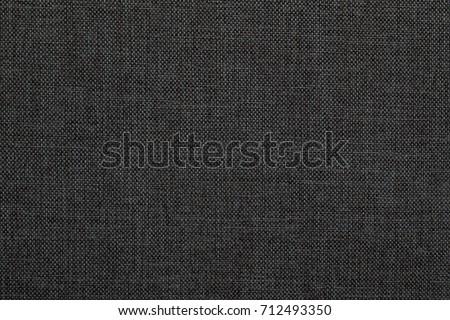 Black fabric texture. Textile background. Royalty-Free Stock Photo #712493350