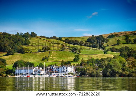 Windermere, Lake District United Kingdom Royalty-Free Stock Photo #712862620