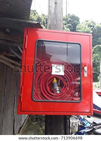 fire extinguisher  #713906698