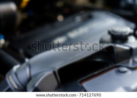 The car engine blurred abstract background #714127690