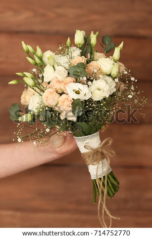 Wedding flowers #714752770