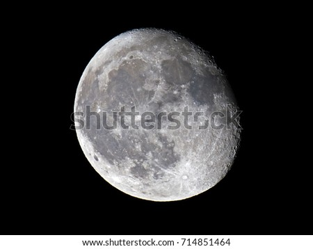 Waning Gibbous Moon #714851464
