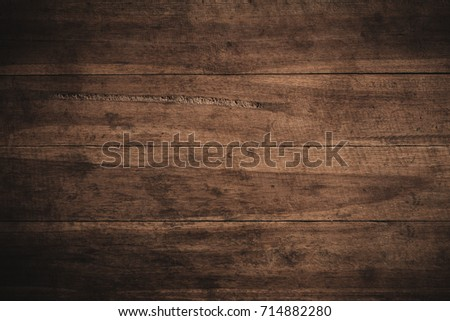 Old grunge dark textured wooden background,The surface of the old brown wood texture #714882280